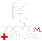 Doctor M  Phone Logo